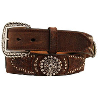 Ariat Men's Tan Concho Belt