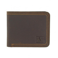 Nocona HDX Triple Stitch Bi‑fold Wallet - Brown