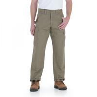 Wrangler Men's Riggs Worker Lined Ripstop Ranger Pant - Bark