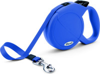 Flexi Classic Blue Tape Extendable Dog Leash
