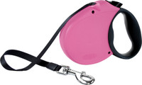 Flexi Classic Pink Tape Extendable Dog Leash