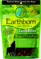 Earthborn Holistic EarthBites Chicken Meal Recipe Natural Dog Treat