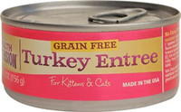 Health Extension Turkey Entree Canned Cat & Kitten Food 5.5oz
