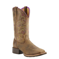 Ariat Women's Hybrid Rancher Cowboy Boot - Tan