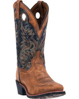 Laredo Men's Stillwater Square Toe - Tan/Grey