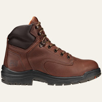 "Timberland Pro Men's Titan 6"" Alloy Toe Work Boots - Tan"