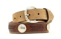 Nocona Youth 1/4 Ribbon Overlay/Lacing Belt