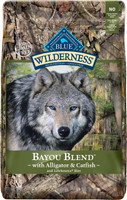 Blue Wilderness Bayou Blend with Alligator & Catfish Dry Dog Food