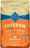 Blue Buffalo Freedom Large Breed Chicken Recipe Grain-Free Dry Dog Food