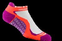 Wigwam Men's Ironman Run Fit Pro Low Cut Sock - Hot Magneta