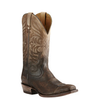 Ariat Men's Breakthrough Ombre Cowboy Boots Square Toe - Chocolate