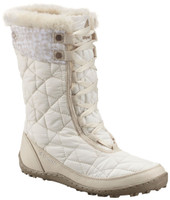 Columbia Women's Minx™ Mid Omni-Heat™ Print Boot - White