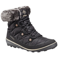 Columbia Women's Heavenly Shorty Omni-Heat Organza Lace Up Boot - Black