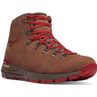 "Danner Men Mountain 600 4.5"" Waterproof Installed Composite Toe Boot - Brown/Red"