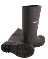 Tingley General Purpose Plain Toe Rubber Knee Boot - Black
