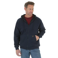 Wrangler Riggs Workerwear Full Zip Hooded Sweatshirt