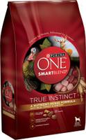 Purina ONE SmartBlend True Instinct with Real Turkey & Venison Adult Premium Dry Dog Food