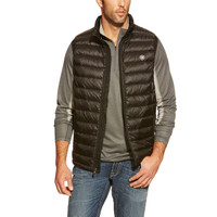 Ariat Men's Ideal Down Vest - Black