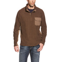 Ariat Men's Lewiston Sweater -Brown