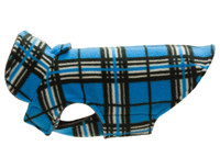 RC Pet Whistler Winterwear V2 -  Blue Tartan