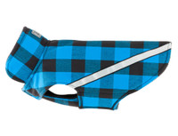 RC Pet West Coast Rainwear Dog Coat -  Blue Plaid