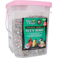 Wild Delight Nut N Berry Wild Bird Food Plai 13.5 lbs