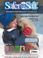 Safer Than Salt Pet Friendly Ice Melt 25lb