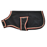 Horseware Rambo Waterproof  Fleece Dog Coat - Black & Tan
