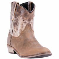 Dingo Women's Aubrey Tan Short Boot