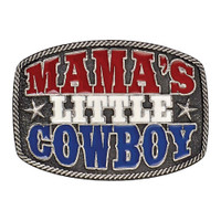 Montana Silversmiths Mama's Little Cowboy Kid's Attitude Buckle
