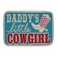 Montana Silversmiths Daddy's Little Cowgirl Kid's Attitude Buckle