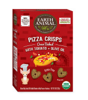 Earth Animal Pizza Crisps – Tomato & Olive Oil Treats