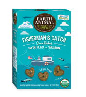 Earth Animal Fisherman's Catch – Flax & Salmon Treats