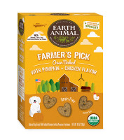 Earth Animal Farmer's Pick – Pumpkin & Chicken Treats