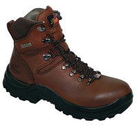 "Thorogood Men's USA 6"" Omni Non-Safety Waterproof Installed Work Boots - Brown"