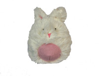 Hugglehounds Plush Durable Squooshie Bunny Ball