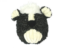 Hugglehounds Plush Durable Squooshie Skunky Ball