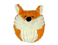 Hugglehounds Plush Durable Squooshie Foxy Ball