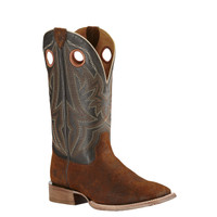 Ariat Men Circuit Hazer Cowboy Boot Chocolate