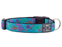 Clip Collar Tropical Paisley