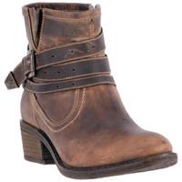 Dingo Women Bay Ridge Cowboy Boots - Tan