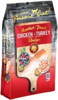 Fussie Cat Market Fresh Chicken & Turkey Recipe Grain-Free Dry Cat Food