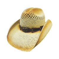 Men's Tan Straw Hat