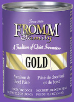 Fromm Gold Venison & Beef Pâté Canned Dog Food