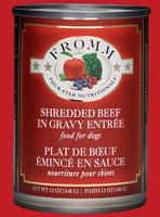 Fromm 4Star Shred Beef & Veg 12oz Canned Dog Food