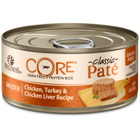 Wellness Core Chicken, Turkey & Chicken Liver 5.5oz Canned Cat Food