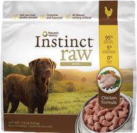 Nature's Variety Instinct Raw Frozen Bites Chicken Formula for Dog