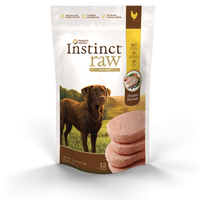 Nature's Variety Instinct Grain-Free Raw Frozen Chicken Diet - Patties