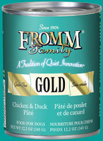 From Gold Chicken & Duck Pâté Canned Dog Food