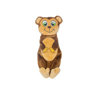 "Outward Hound Squeakimals Monkey 21"" Dog Toy"